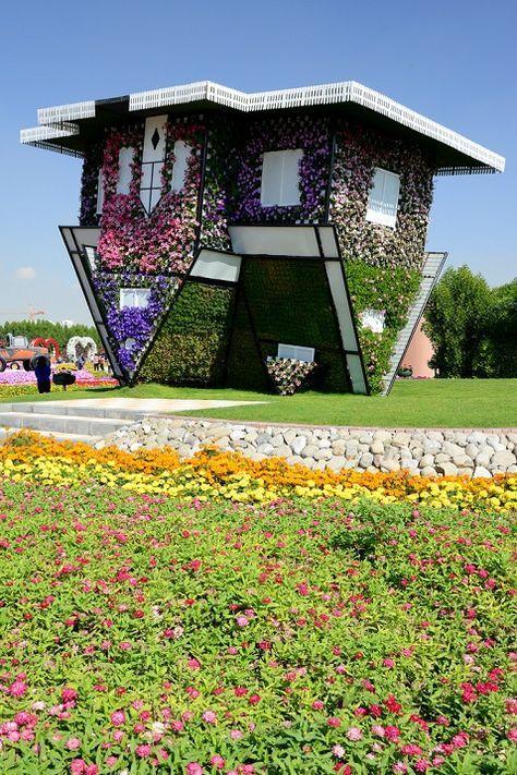 Dubai Miracle Garden Peyzaj düzenlemesi, Peyzaj, Manzara