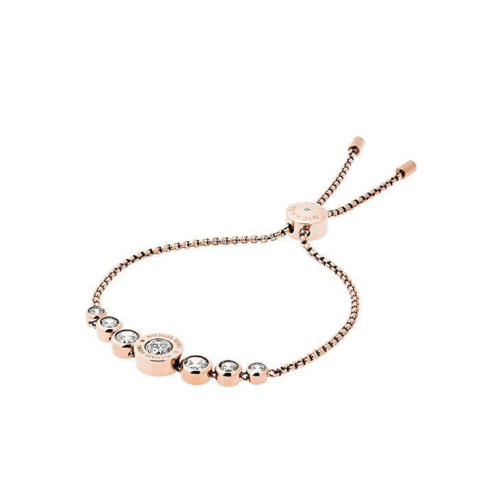 003cf60fba938 Michael Kors Damen-Armband Edelstahl roségolden mit Zirkonia 5