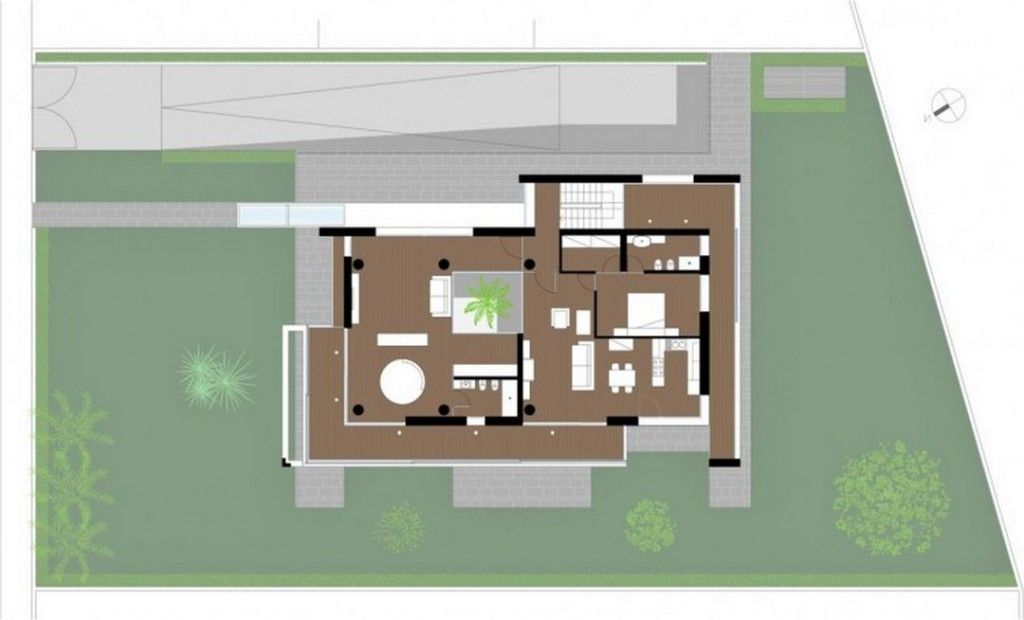 Villa villa pm design and architecture ideas blueprint for first villa villa pm design and architecture ideas blueprint for first floor stylish contemporary villa malvernweather Images