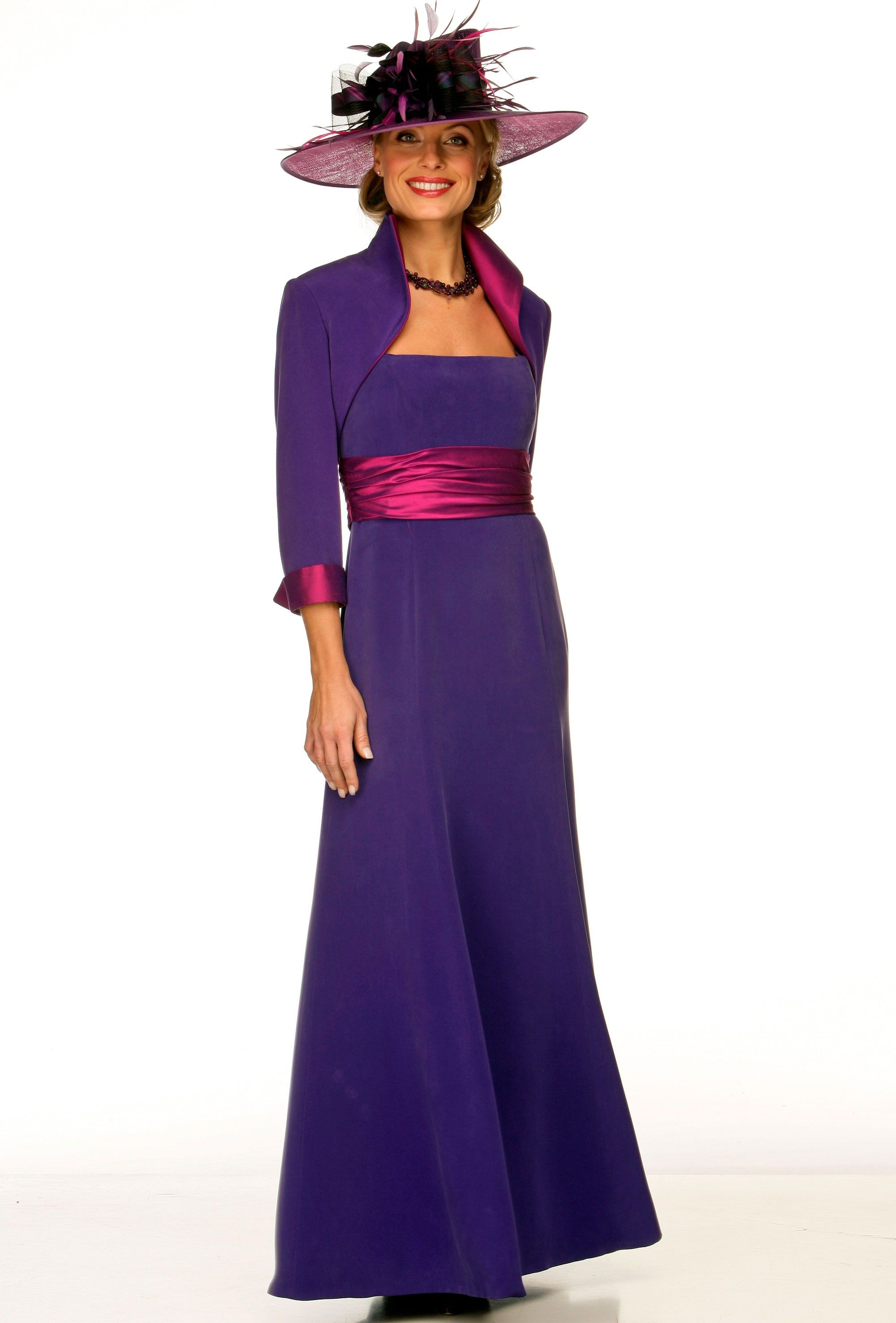 Joyce Young Silk dress and bolero jacket - Wedding Dresses ...
