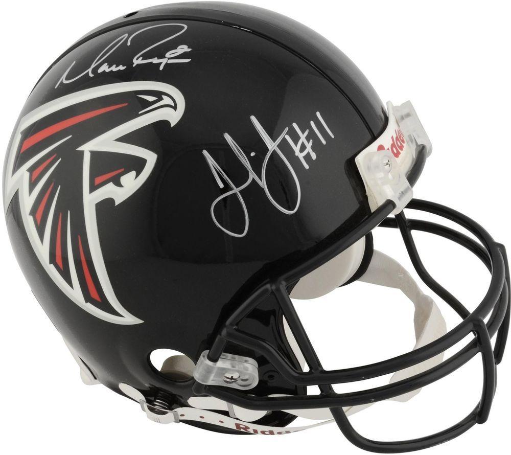 Matt ryan julio jones atlanta falcons dual signed