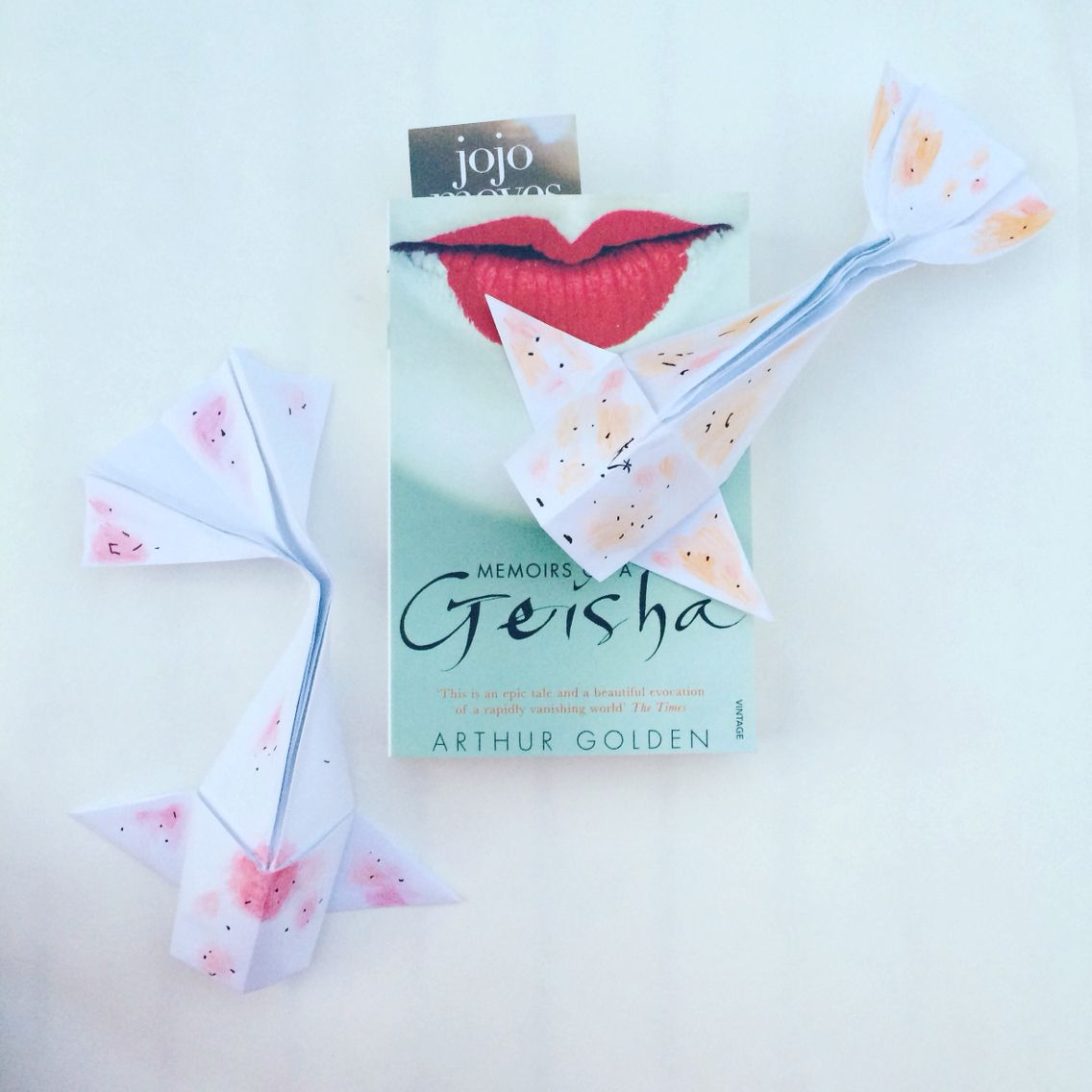 Japan Inspired Day With My Origami Koi Fish And Favourite Book Diagram