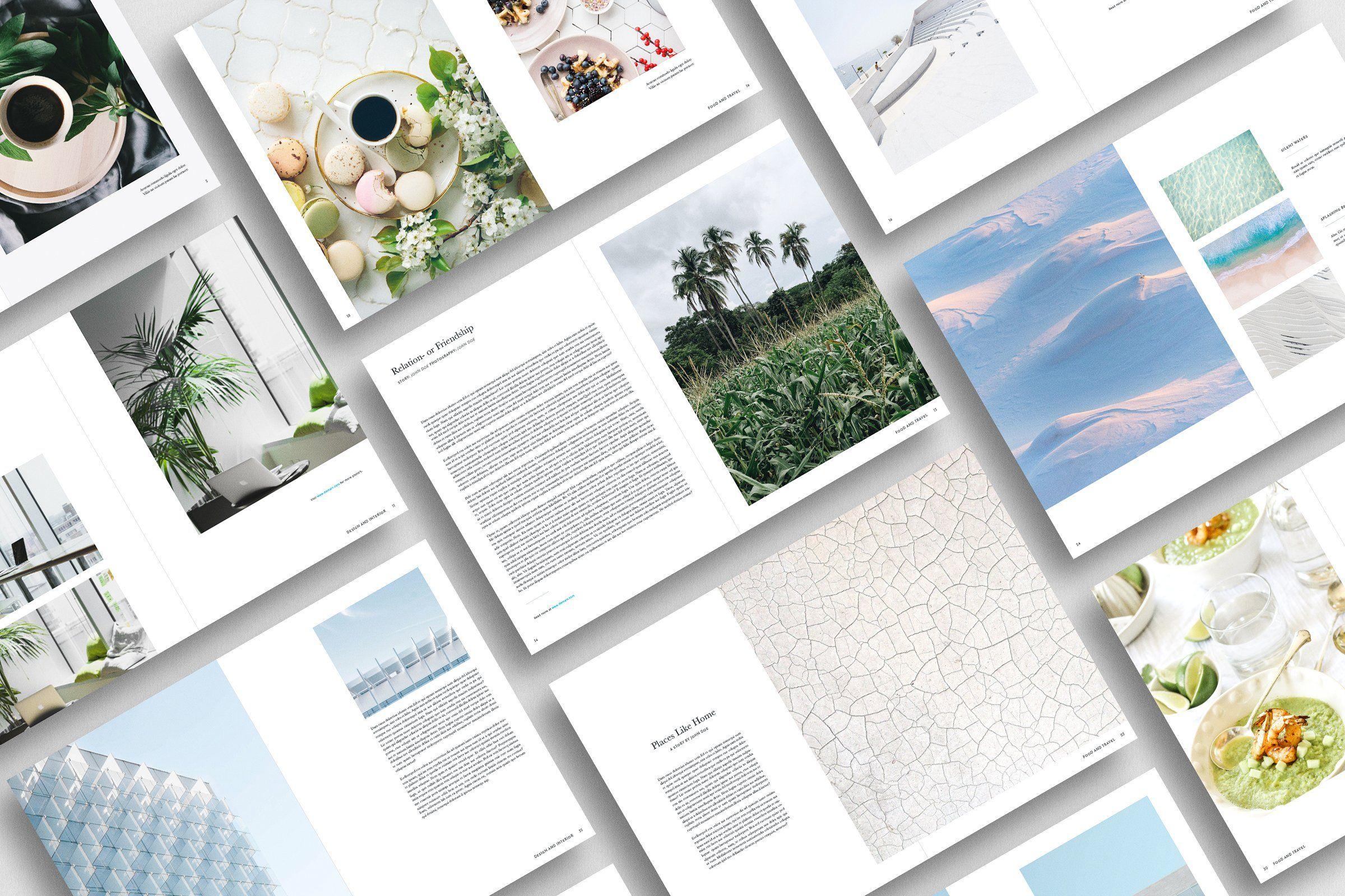 Magazine Duo Pack Grafisk Design