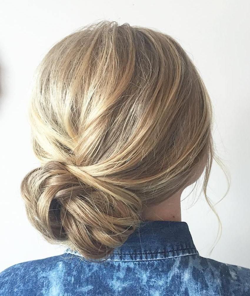 Side Bun Hairstyles Custom 60 Updos For Thin Hair That Score Maximum Style Point  Side Bun