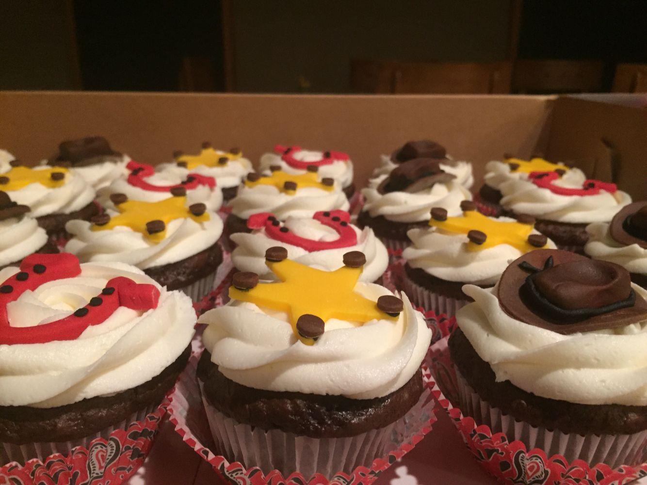 Western cupcakes