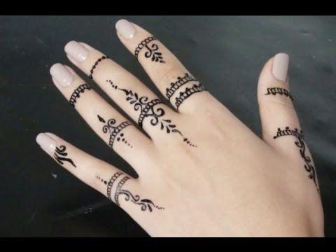 Youtube Small Henna Tattoos Henna Tattoo Hand Henna Tattoo Designs Simple