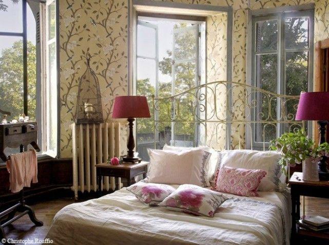 1000 images about deco dormitorios on pinterest - Chambre Maison De Campagne