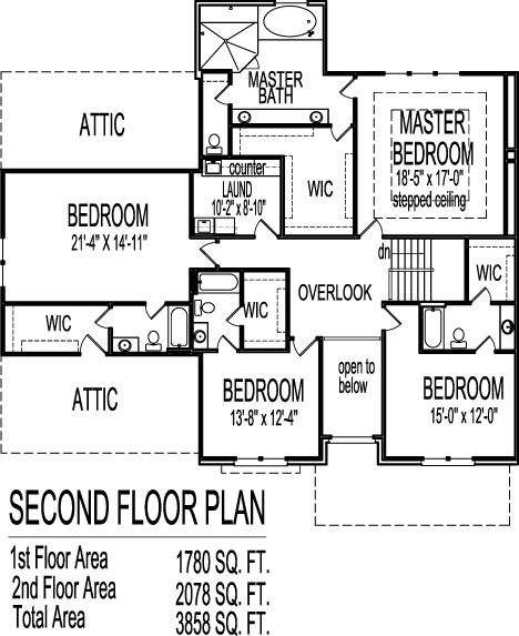 2 story architect home 4 bedroom open floor plan front porch