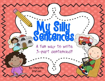 This is a fun way to get your students to build their own 3 part sentences!