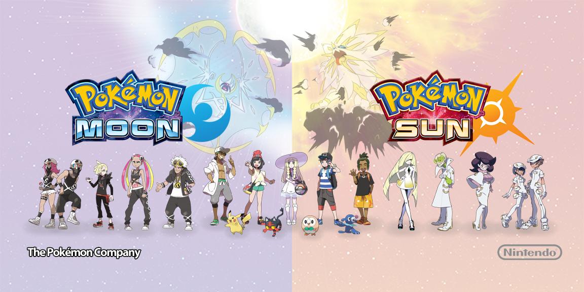Ipad Pokemon Sun Wallpaper Pokemon Moon And Pokemon Sun Wallpaper By Magnetarmaster On Deviantart Pokemon Pokemon Moon Pokemon Sun
