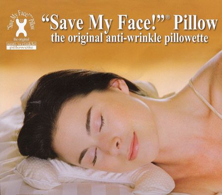 anti wrinkle face pillow