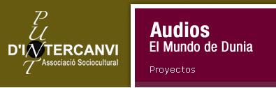 Audios de vocabulario (también en otros idiomas). Acompañarlos de imagen.
