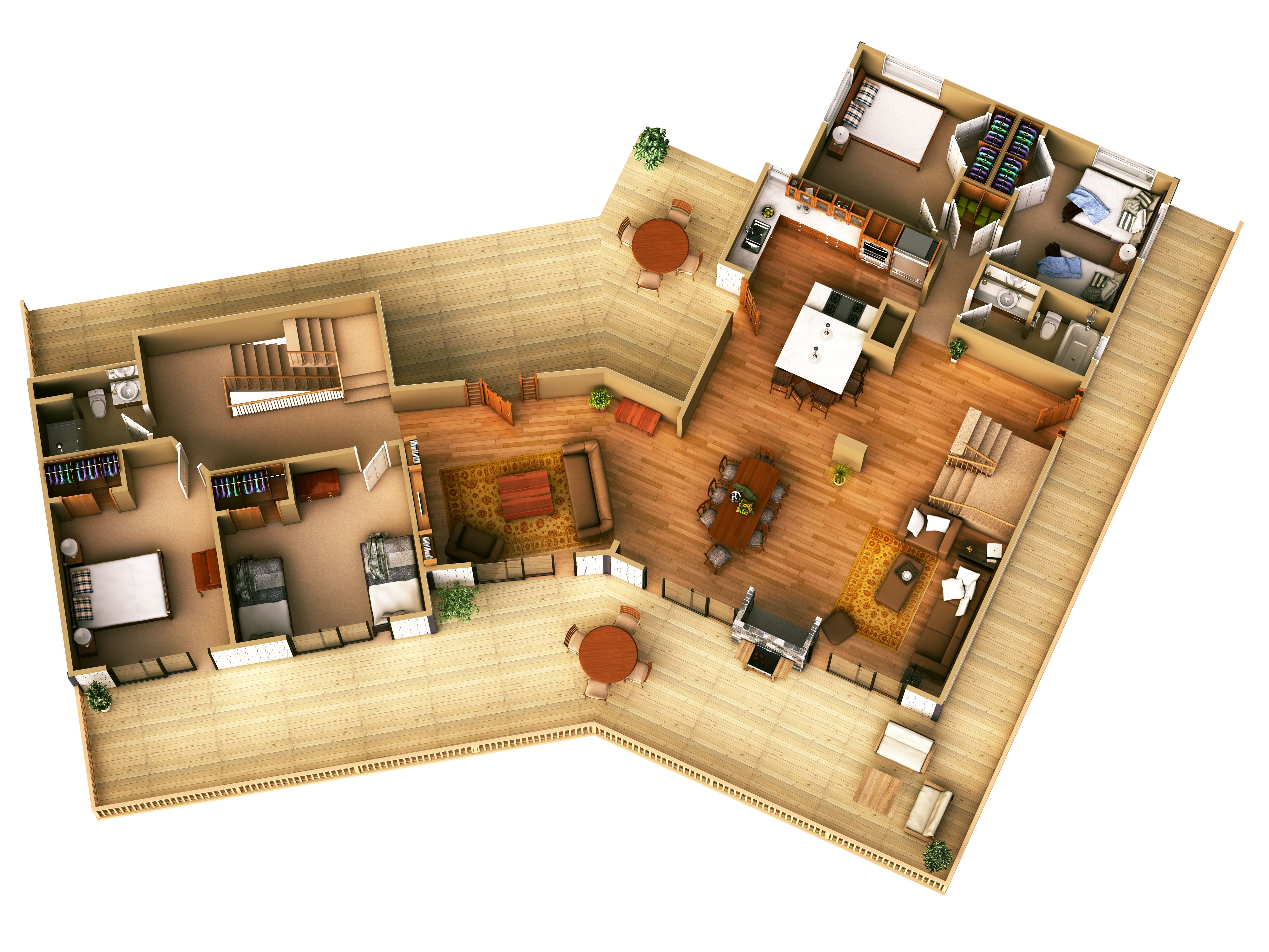 modern small house plans house