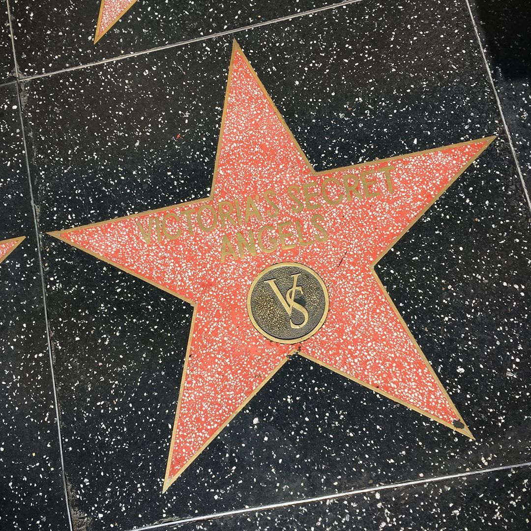 Hollywood Walk Of Fame Octubre 2018 Victoriaas Secret Angels Hollywood Blvd Los Angeles Califor Walk Of Fame Hollywood Walk Of Fame Hollywood California