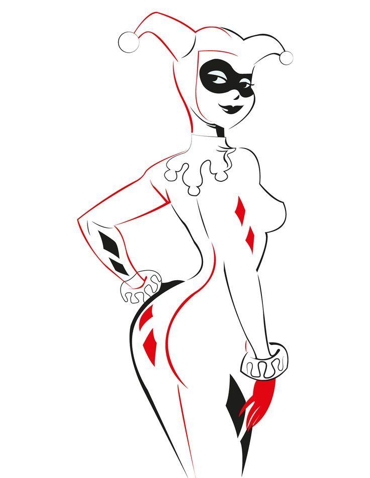 Harley Quinn Tribal  Created by Fabio Barrios: