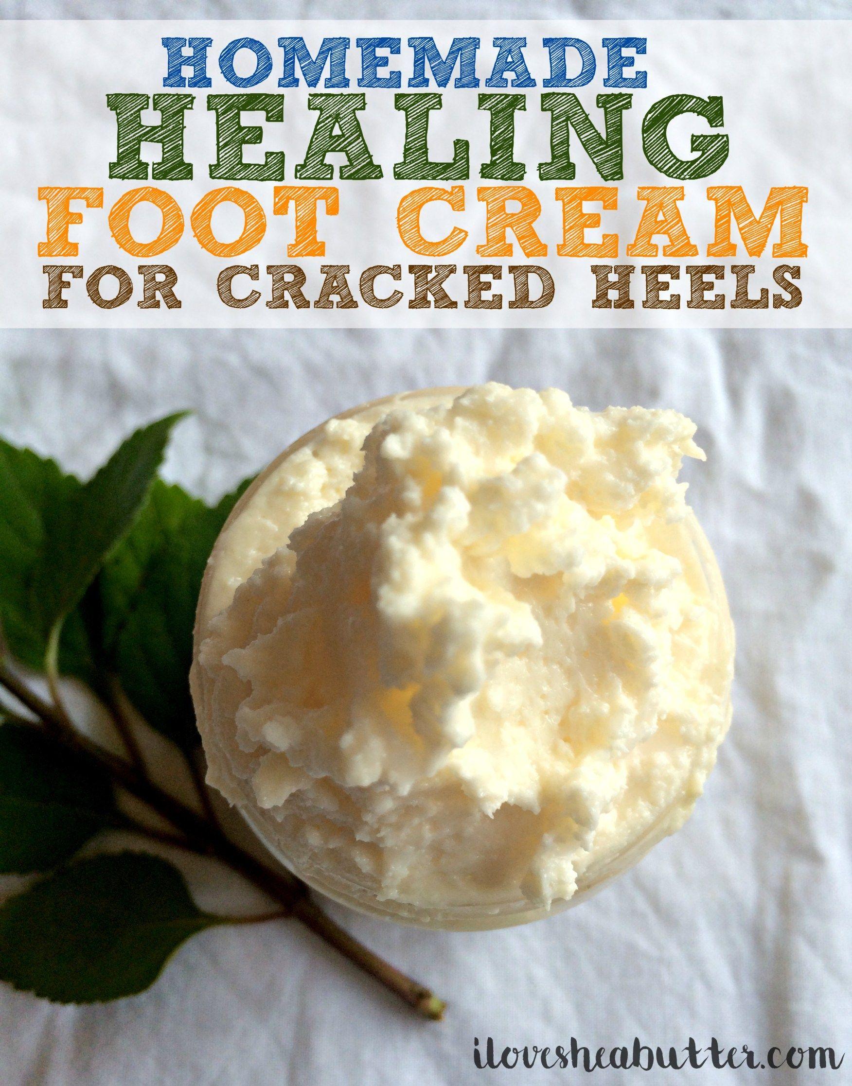 Shea Butter Foot Cream Recipe Foot Cream Recipe Homemade Foot