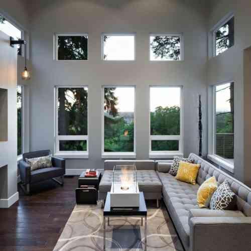 Déco moderne pour le salon  85 idées avec canapé gris