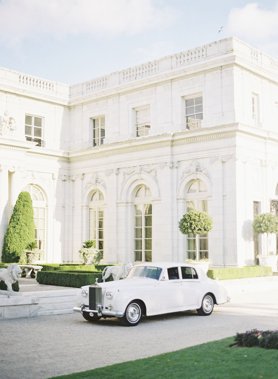 Romantic Glamorous Newport Wedding At Rosecliff Mansion
