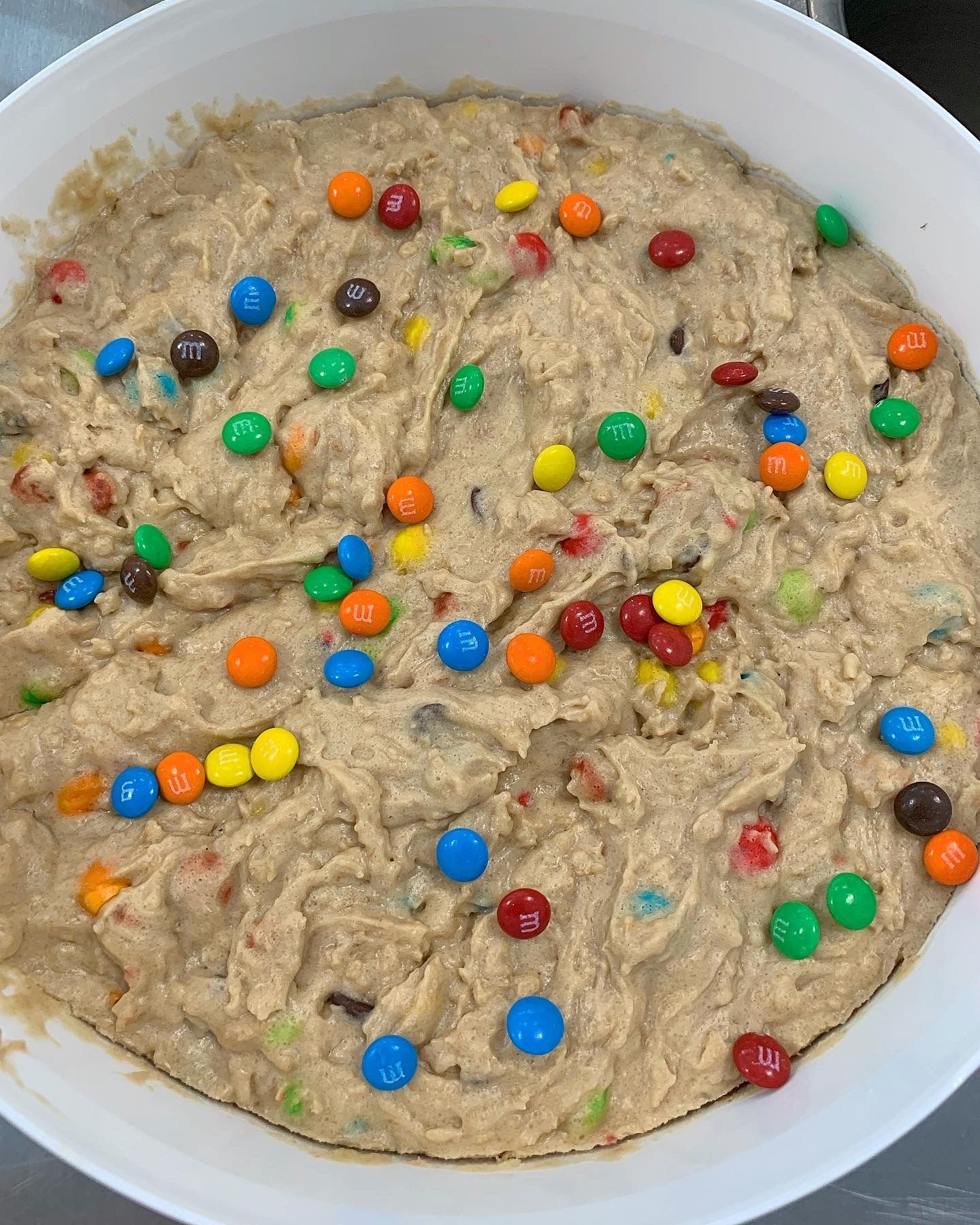 Bulk Tubs Monster M M Edible Cookie Dough Peanut Butter The Cookie Dough Cafe Bulk Cookies Edible Cookie Dough Cookie Dough