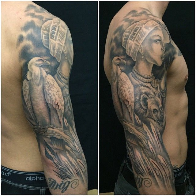 African Warrior Tattoos 25 Traditional Tribal African Symbol