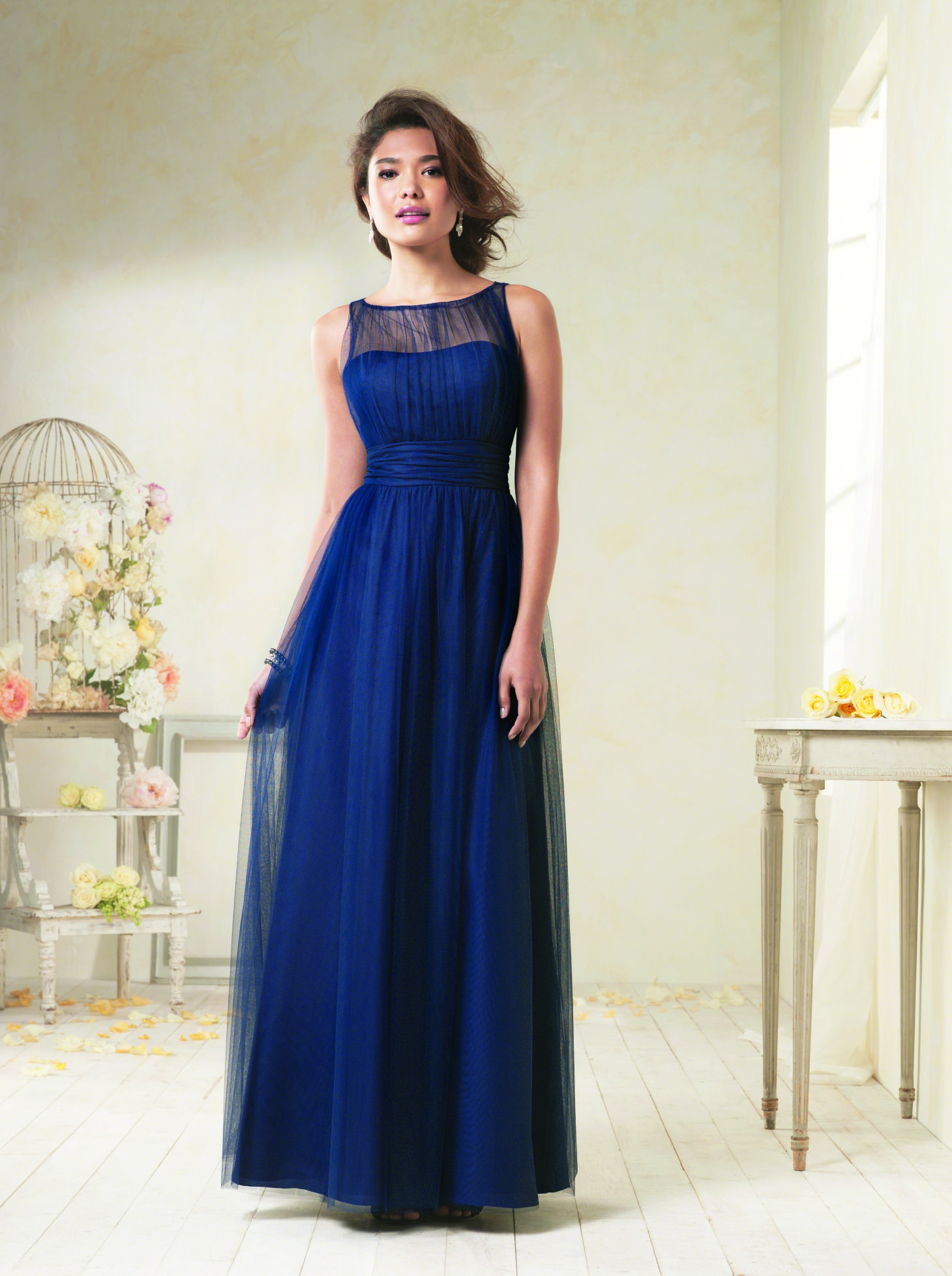 Alfredangelo bridesmaid modern vintage style wedding dresses