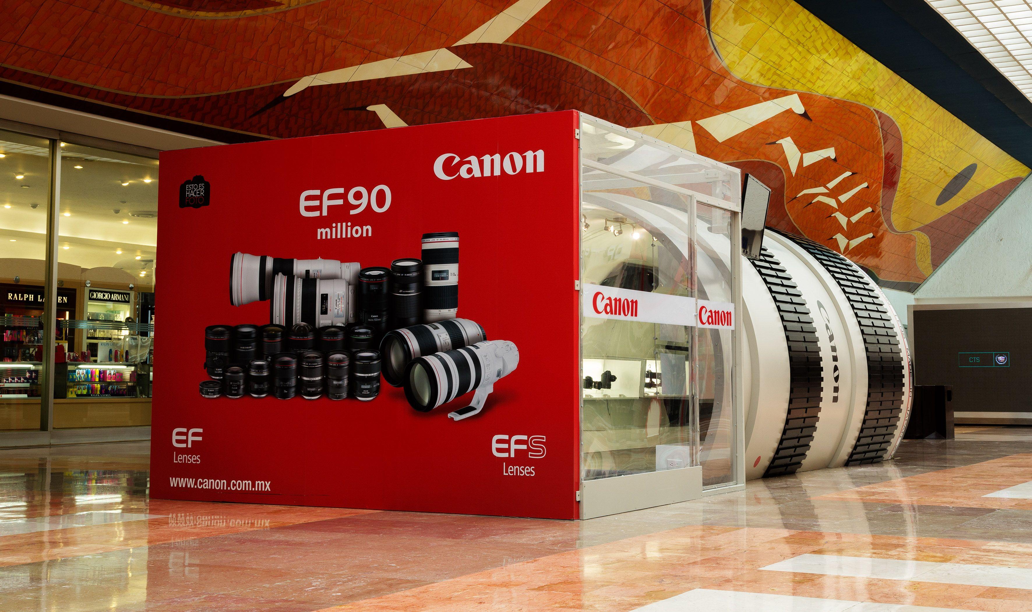 Shortlist Effie Awards® 2014 Campaña: The Canon Experience Marca: Lentes y objetivos fotográficos Agencia: Archer Troy