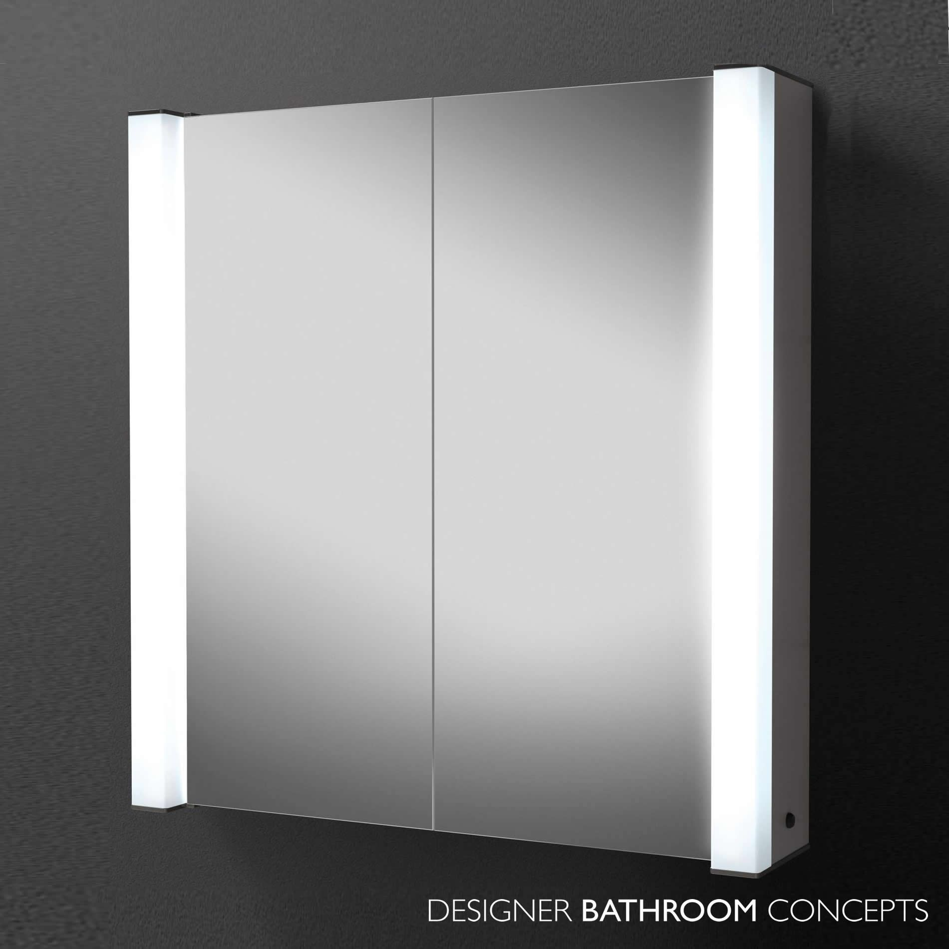 Illuminated Bathroom Cabinets >> Photo Designer Illuminated Bathroom Cabinet Exclusive