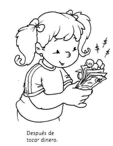 Dibujos Para Colorear Para Ensenar Higiene Personal En Los Ninos Higiene Personal Higiene Ninos Higiene Personal Ninos