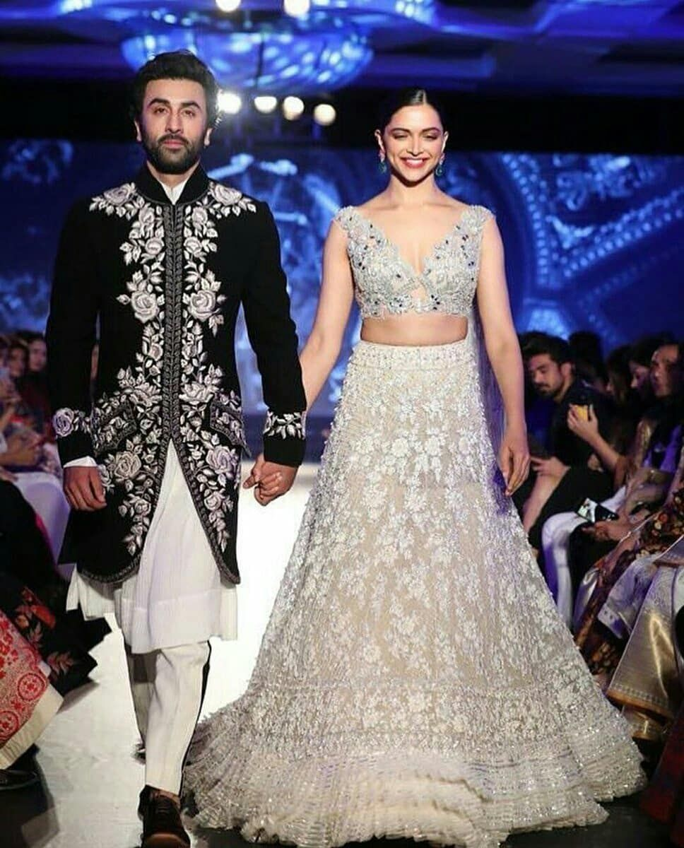 1 353 Likes 8 Comments Ranbir Deepika Kapoor Rkdp Ranbirdeepikaendless On Instagram Indian Wedding Outfits Desi Wedding Dresses Manish Malhotra Bridal