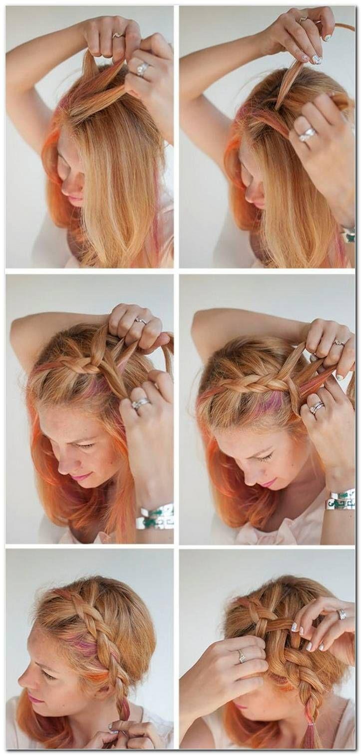 coole frisuren für lange haare zum selber machen mit