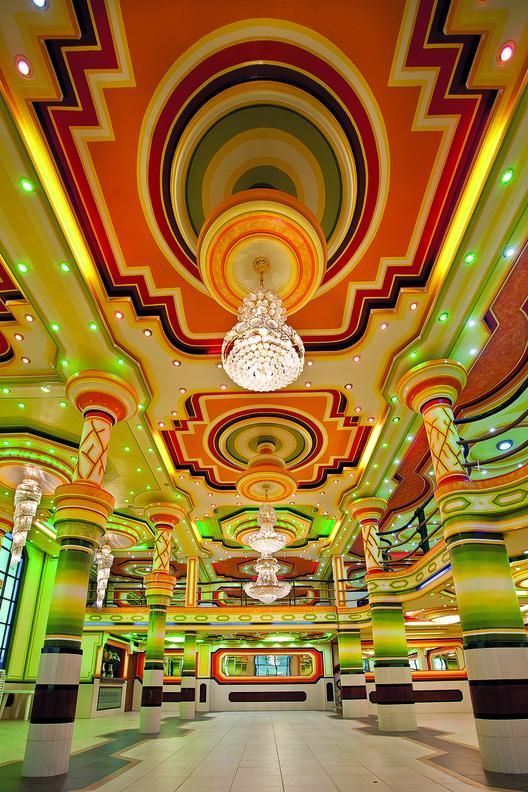 Freddy Mamani - architecture andine contemporaine