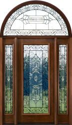 Exterior Doors With Half Round Transoms Arched Transoms