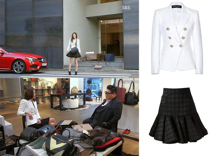 Jun Ji-hyun (Gianna) / Cheon Song-yi fashion Balmain 2014 S/S Resort
