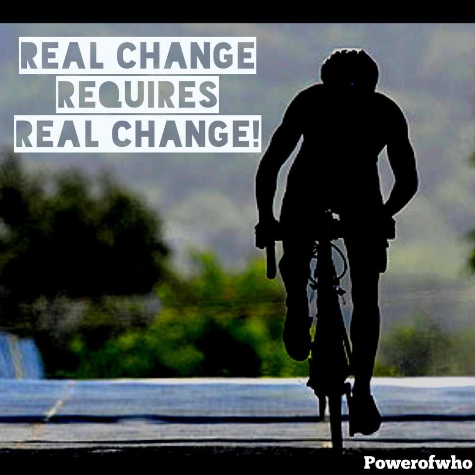 Real Change Requires Real Change