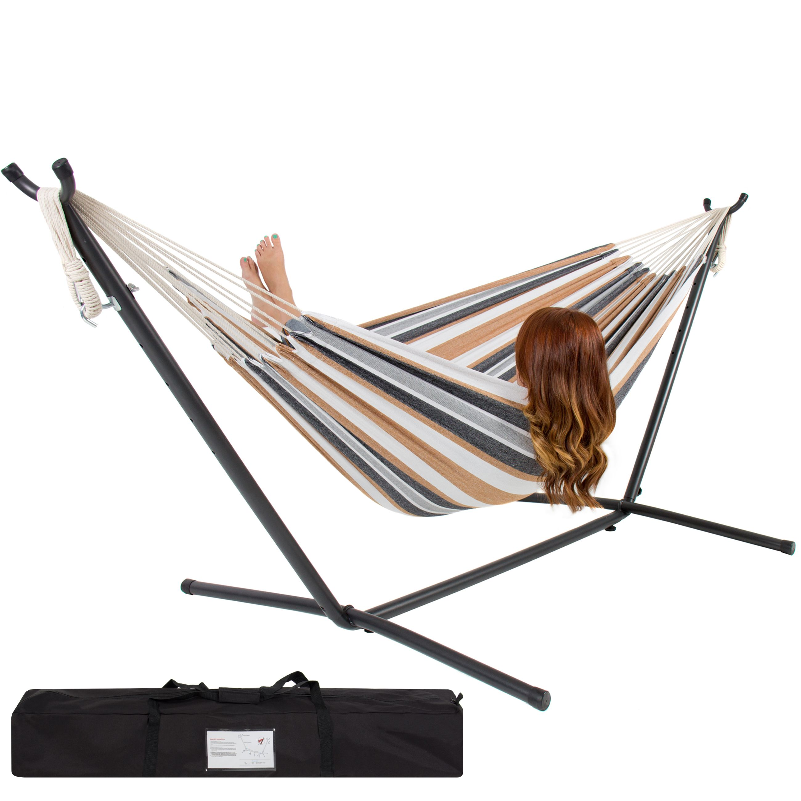 swing beach pinterest head chair hammocks cottage durawood deluxe rope double hammock pin by nags cedar