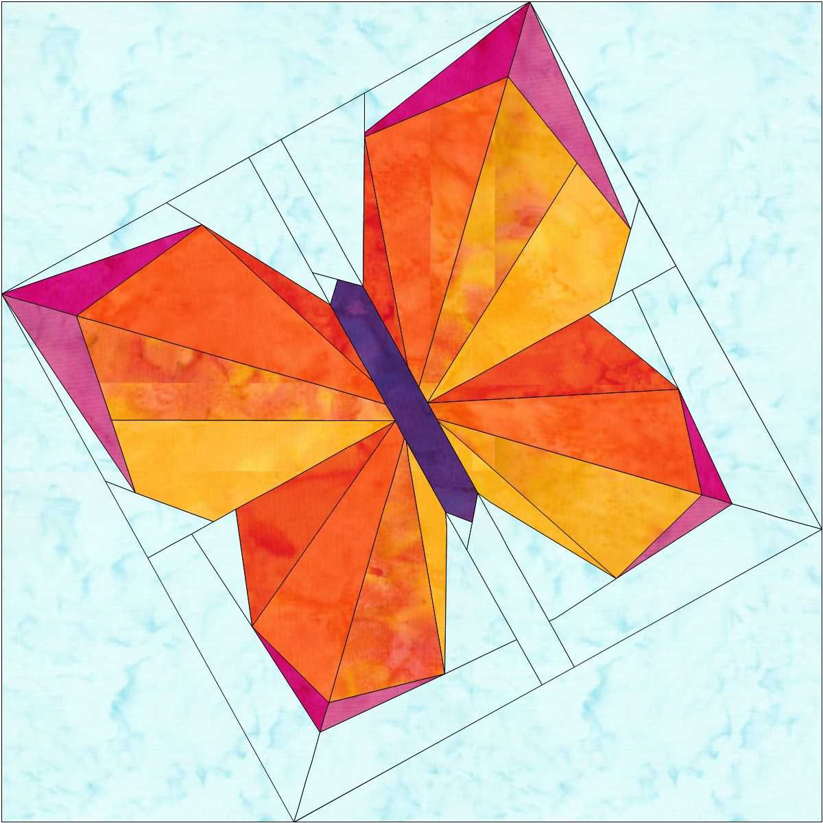 The Evolution Of A Butterfly Block Barn Quilts Paper