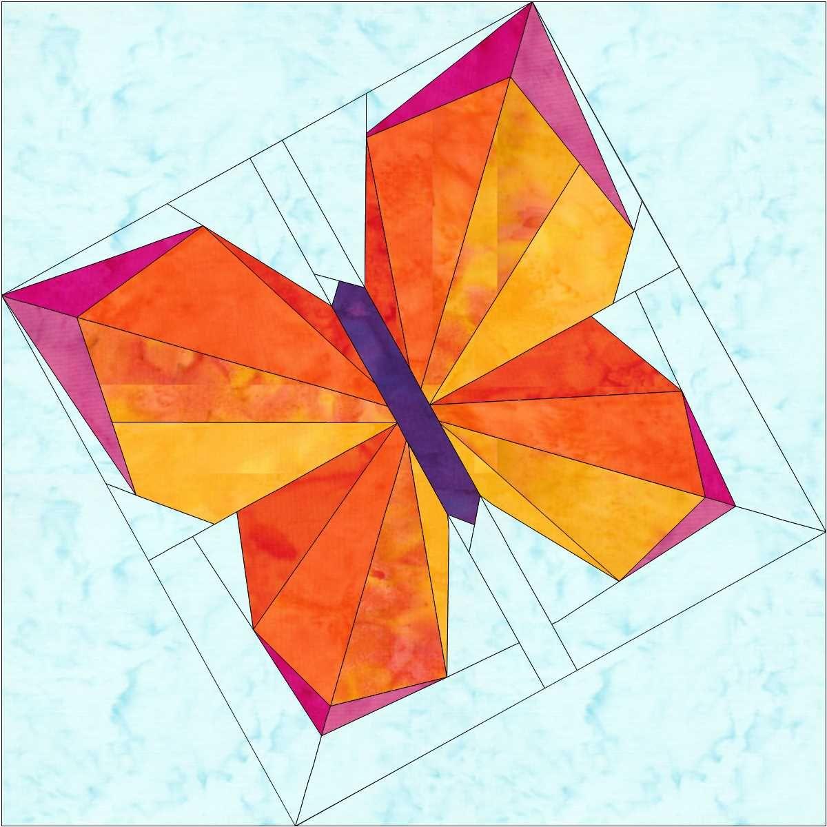 The Evolution of a Butterfly Block | Barn Quilts | Pinterest ... : butterfly quilt block pattern - Adamdwight.com