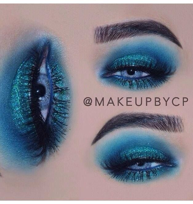 Eye Kandy's Spearmint for this colorful gorgeous look