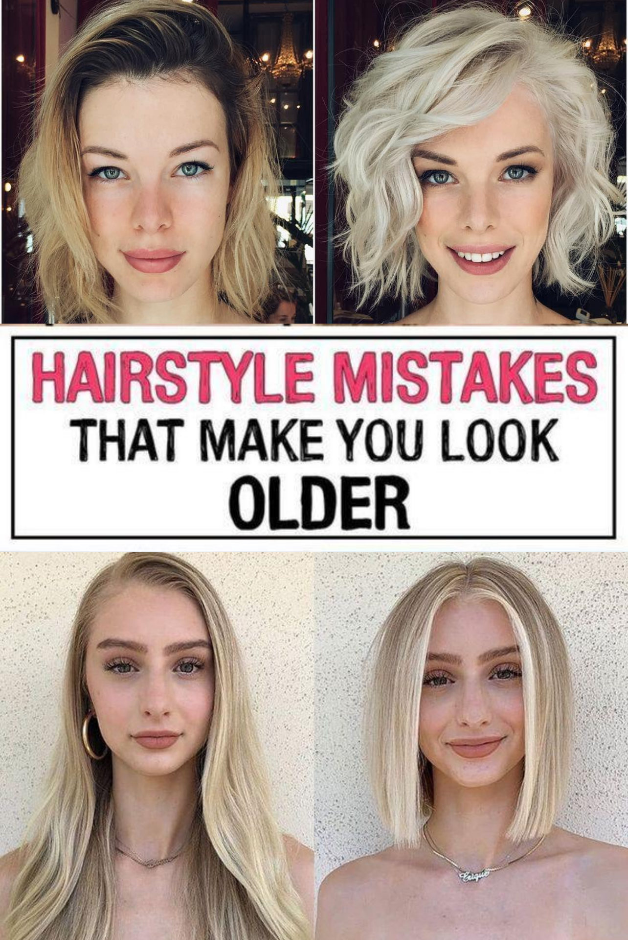 11 Hairstyle Mistakes That Are Aging You In 2020 Mom Hairstyles Hair Mistakes Hair Advice