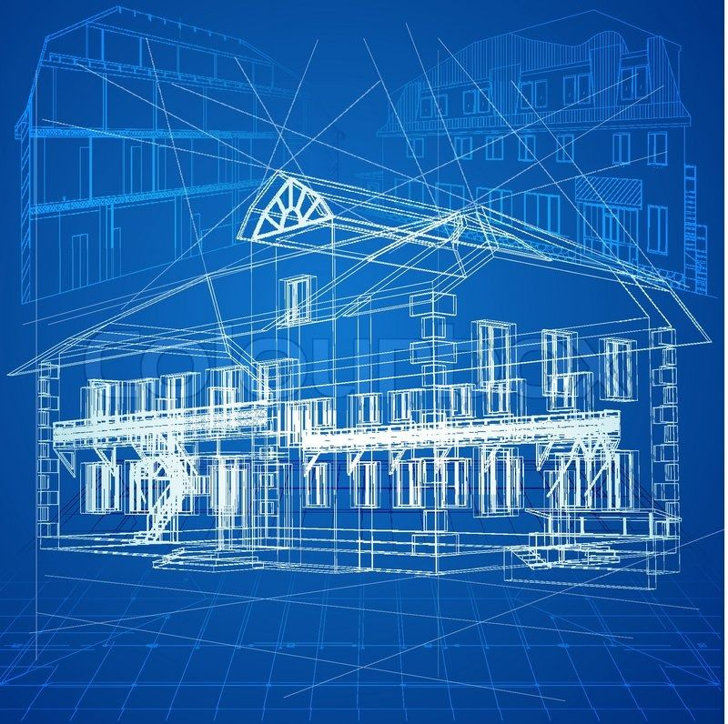 4503525 urban blueprint vector architectural background part of 4503525 urban blueprint vector architectural background part of malvernweather Gallery