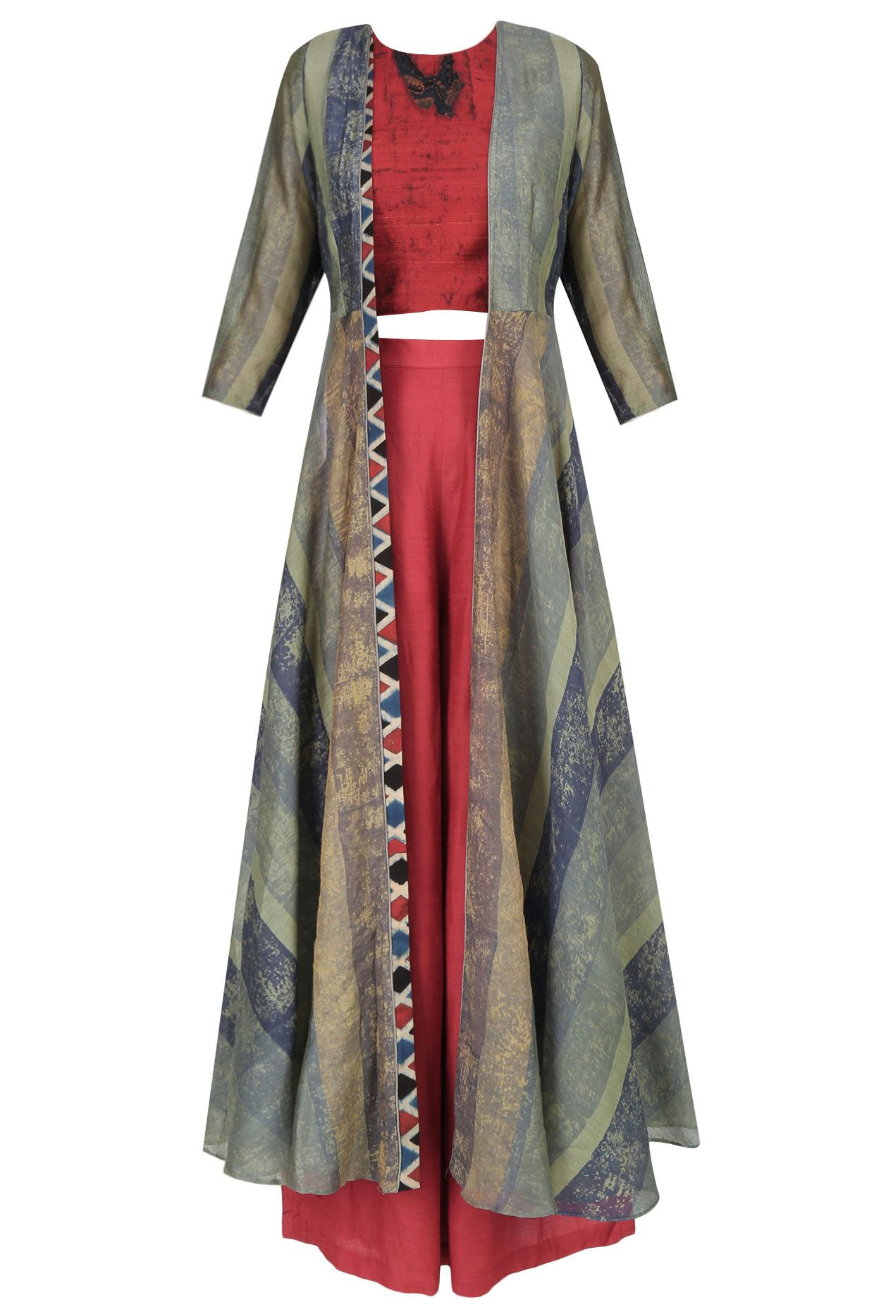 Shirt design with palazzo - Buy Anushree Designer Dresses Cape Set Palazzo Pants Skirts Set Jumpsuits Online From Perniaspopupshop Fashion Store Shop Now