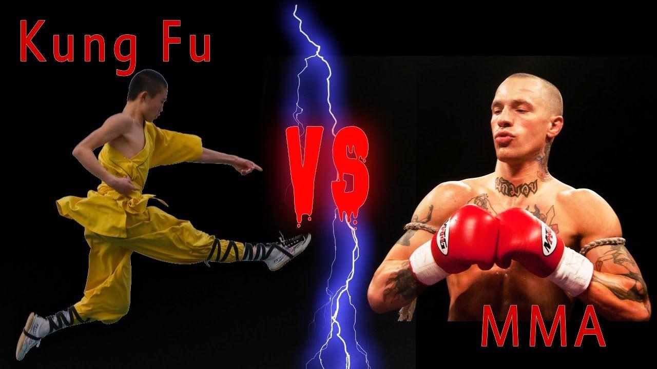 Shaolin kung fu monk Vs MMA Fighters | MMA | Shaolin kung fu, Mma