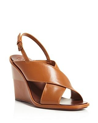 e7e9aefb19d4 Tory Burch Gabrielle Slingback Wedge Sandals