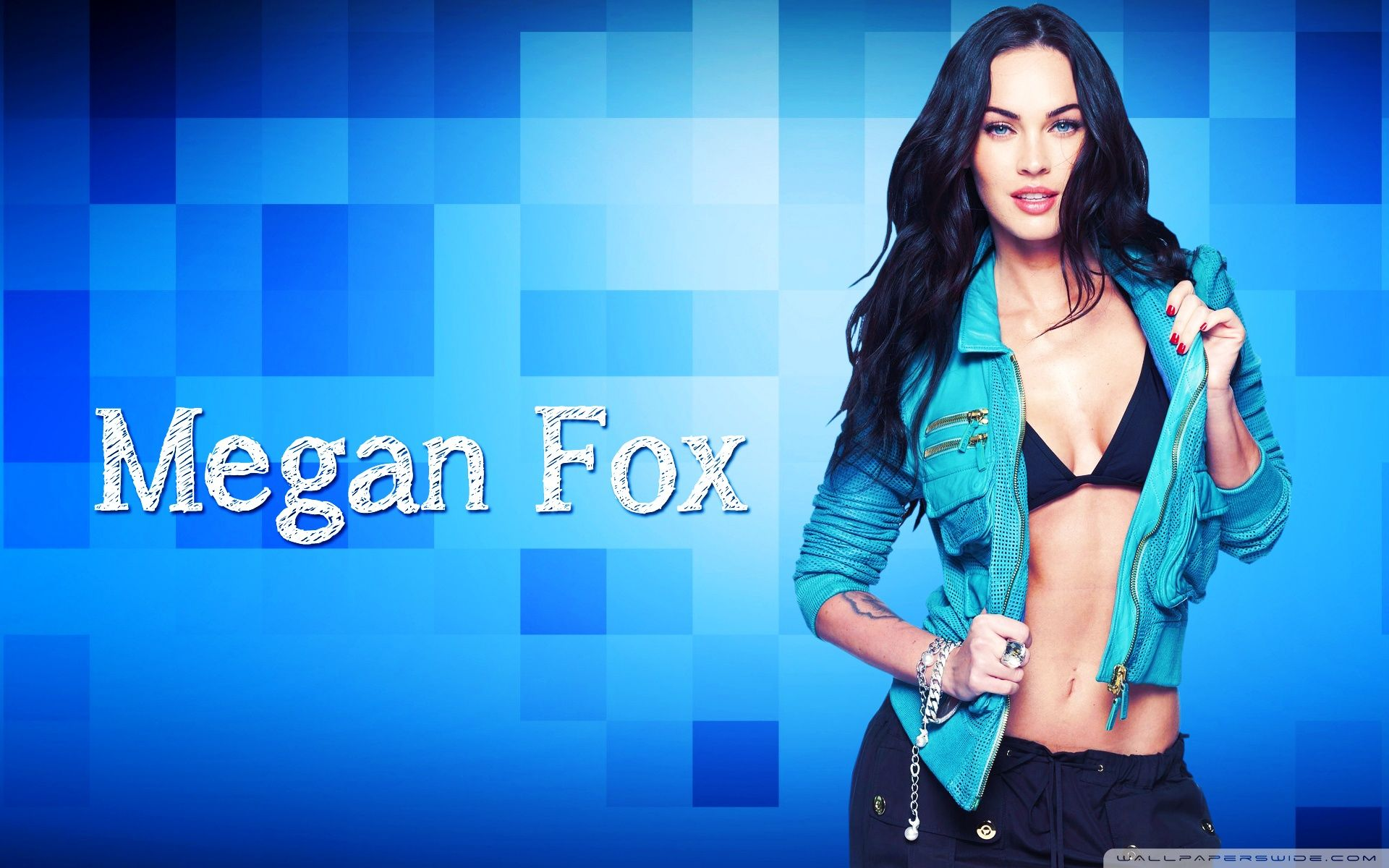 Megan Fox Wallpaper Hd Fantasy: Sexy Wallpaper Megan Fox Wallpapers For Free Download