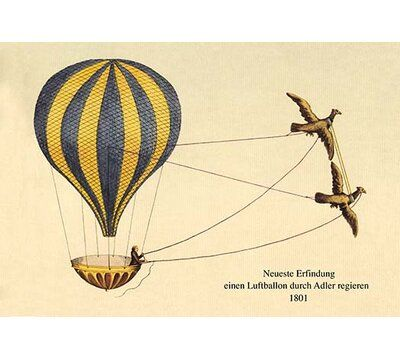 Buyenlarge Lighter than Air, hot air, helium and hydrogen filled balloons for transport and military reconnaissance.