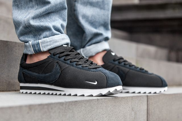 033e8f28a967 ... where can i buy authentic nike cortez big tooth by nikelab black white  sneaker freaker bc8e4