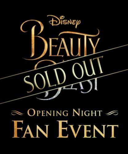 #Theater - El Capitan Theatre Beauty & the Beast VIP Movie tickets Fan Event Opening Night https://t.co/IEz94RotIr https://t.co/UT75445BMD