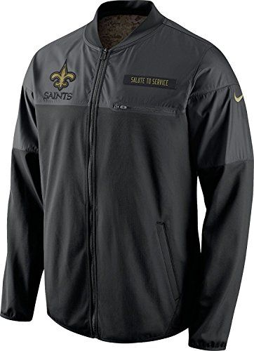 pretty nice c8a61 3b8e4 New Orleans Saints Salute To Service Jacket | WHO DAT ...