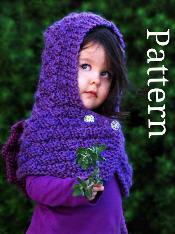 Dragon Hooded Cowl Knitting Pattern - Kids Cowl Pattern Baby Cowl ...