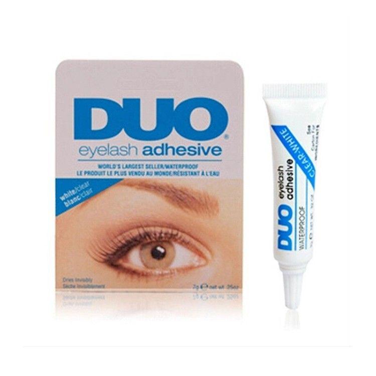 속눈썹 접착제 듀오 안티 민감한 알레르기 메이크업 방수 접착제 속눈썹 접착제 (흰색 접착제) 도매